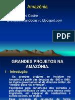 Geografia - Grandes Projetos