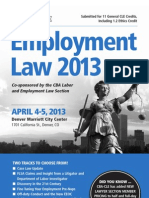Employment Law Conference 2013