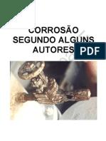 CORROSÃO SEGUNDO ALGUNS AUTORES