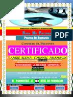(Angie) Certificado de Promocion (2do Nivel)