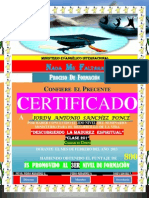 (Jordy) Certificado de Promocion (2do Nivel)