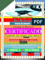 (Mariana)Certificado de Promocion (2do Nivel)