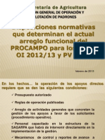 Presentacion PROCAMPO Productivo OI12 13 (1)