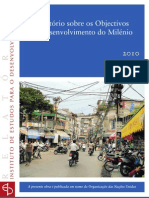 RELATÓRIO ODM 2010 [IED - 2010]