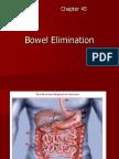 Bowel Elimination