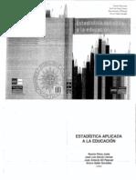 Libro_ Estadística aplicada a la educación