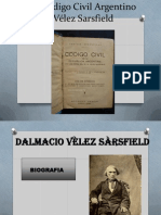 El Código Civil Argentino Vélez Sarsfield completo