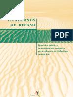 Cuaderno de Repaso Ejercicios Practicos de Estimulacion Cognitiva Para Enfermos de Alzheime en Fase Leve
