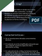 El blog y las wiki Daniela Dallazuana.ppsx
