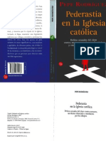 Rodríguez, Pepe - Pederastia en la Iglesia Católica