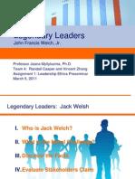 Ethics Legendary Leaders