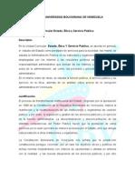 Estado, Ética y Servicio Público 6to semestre