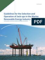 Jack Up Guidelines
