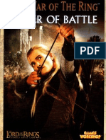 Lotr Strategy Battle Game - Supplement - The War of the Ring-Order of Battle