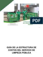 4d7e9591ead79 Guia de La Estructura de Costos Del Servicio de Limpieza