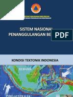 Bnpb - Sistem Nasional Penanggulangan Bencana Direktorat Pengurangan Risiko Bencana Bnpb 2010