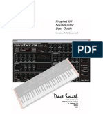DSI Prophet08 SE User Guide