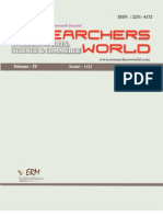 www.researchworld.com   ISSN 2231-4172