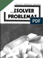 (LIBRO-SCAN-eBook) (Recursos Didacticos Alhambra) Como Resolver Problemas (Logica-matematicas-imaginacion-Inventar-crear)