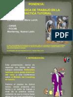 28.Una lógica de trabajo en la práctica tutorial