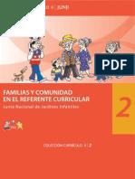 Libro Familias y Comunidad en El Marco Curricular 2