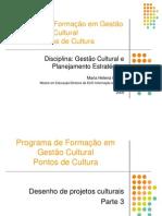 GESTÃO CULTURAL E PLANEJAMENTO ESTRATÉGICO