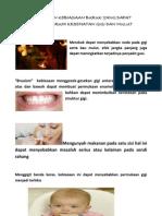 Kebiasaan Kebiasaan Buruk Yang Dapat Mempengaruhi Kesehatan Gigi Dan Mulut