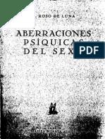 Roso de Luna, Mario- Aberraciones Psíquicas Del S-xo o El Conde De Gabalis