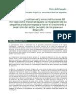 La Agricultura Contractual y Otros Mecanismos de Mercado