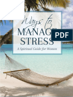 Ways to Manage Stress - A Spiritual Guide for Women (Sample Book)