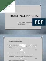 Diagonalizacion Jaa