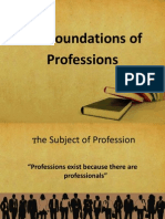 The Foundations of Professions
