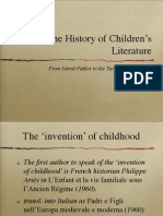 The History of Children's Literature
