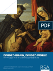 RSA Divided Brain Divided World