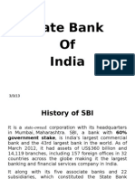 Case study of SBI Bank
