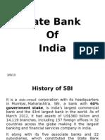 Case study of SBI Bank
