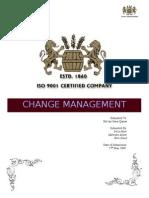 Change Project
