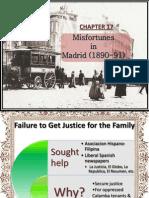 Misfortunes in Madrid (1890-91)