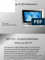 Working of LED Televisions