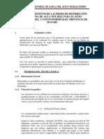 MEMORIA TECNICA DE DISEÑO DE MORACUMBO AA.PP