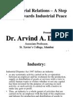 SY Sem-IV Industrial Relations