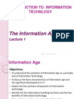 Lecture 1-Introdn to I.T