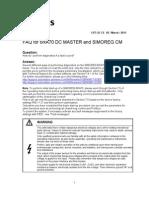 FAQ 6RA70 Fault Diagnostics En
