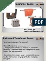 Instrument Transformer Basics