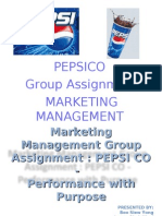 pepsi case study analysis