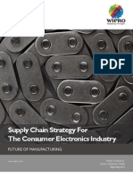 The Future of Supply Chain Strategy for Consumer Electronics