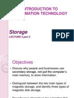 Lecture 3 Part 2- Storage