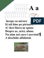 Alfabetul Limbii Romane, In Versuri