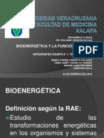 Bioenergética y ATP