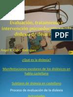 Caracteristicas, Intervencion y Tratamiento de La Dislexia Angel Calvo
